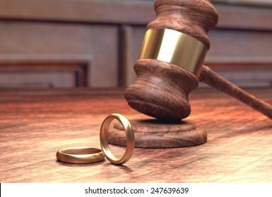 Divorce court case