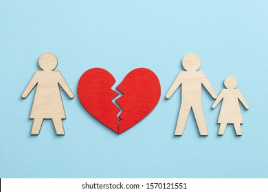 Divorce in a family with children. Mom left the family and left dad with the baby.