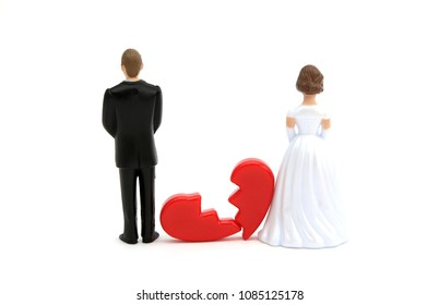 A divorced couple with a broken heart