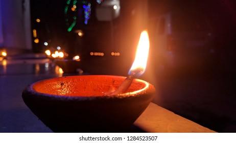Diwali art Love Deepak