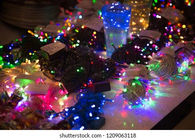 Diwali/ Christmas/Marriage decoration red, yellow, green, white, blue LED lights