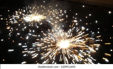 Diwali crackers celebration