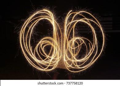 Diwali fire works