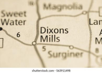 Dixons Mills. Alabama. USA