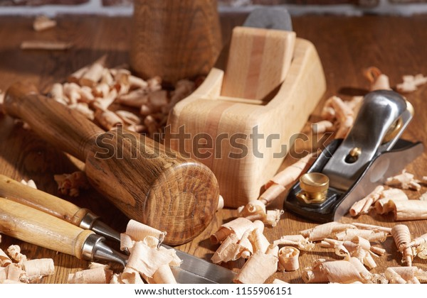 Pleasant Diy Concept Carpenter Cabinet Maker Hand Stock Photo Edit Andrewgaddart Wooden Chair Designs For Living Room Andrewgaddartcom