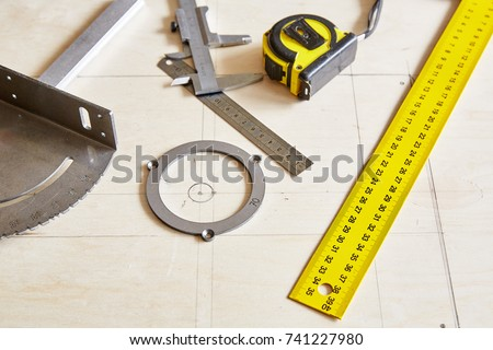 Diy Concept Carpenter Craft Table Woodworking Stock Photo Edit Now