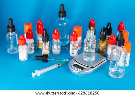 DIY Ejuice Vaping Stock Photo (Edit Now) 628618250