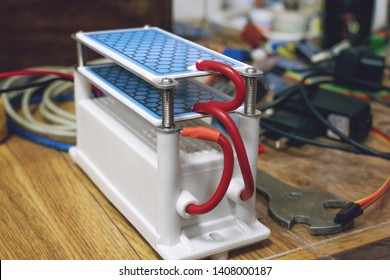 DIY Ozone Generator, ozonizer. Heavy Duty Ozone Generator DIY with Blue Plates Treatment.