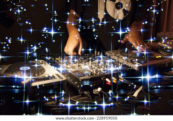 Dj Music Night Clubmusic Star Dj Stock Photo (Edit Now