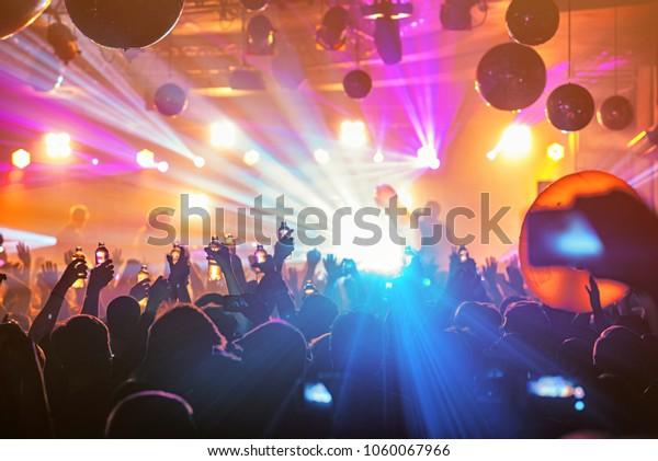 Dj Night Club Party Rave Crowd Stock Photo (Edit Now) 1060067966