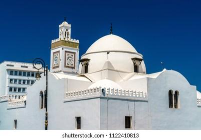 Djama'a al-Djedid, an Ottoman mosque in Algiers, the capital of Algeria