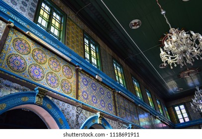 DJERBA, TUNISIA - JANUARY 3 2017: El Ghriba synagogue (Djerba Synagogue). Tunisian island of Djerba