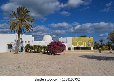 DJERBA, TUNISIA - JANUARY 6 2018: Djerba Explore Park and Lalla Hadria Museum area