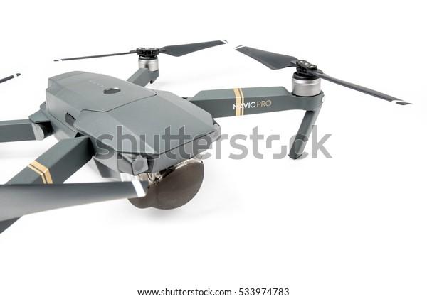 Dji Mavic Pro Drone Riga Latvia Stock Photo (Edit Now) 533974783