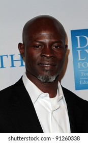 """Djimon Hounsou at the 3rd Annual """"Change Begins Within"""" Benefit Celebration, Los Angeles Times Central Court, Los Angeles, CA 12-03-11"""