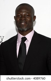 """Djimon Hounsou at the """"A Mighty Heart"""" premiere at the Ziegfeld Theater in New York City on June 13, 2007. © RD / Leon / Retna Digital"""