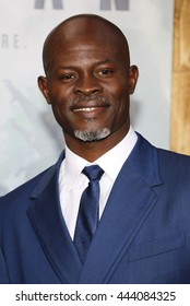Djimon Hounsou at the Los Angeles premiere of 'The Legend Of Tarzan' held at the Dolby Theatre in Hollywood, USA on June 27, 2016.