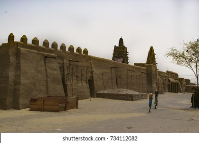 Djinguereber Mosque in Timbuktu, Mali -July, 2009