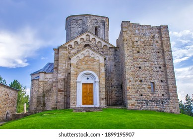 Le monastère de Djurdjevi Stupovi à Novi Pazar, Serbie
