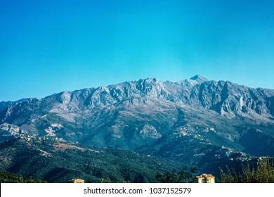 Djurdjura mountain in Kabylie