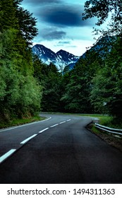 The Transfăgărășan or DN7C is a paved mountain road crossing the southern section of the Carpathian Mountains of Romania. It has national-road ranking and is the second-highest paved road in the count