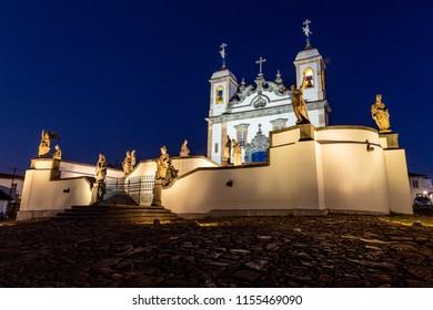 Santuário do Bom Jesus de Matosinhos at Congonhas, Minas Gerais, Brazil.