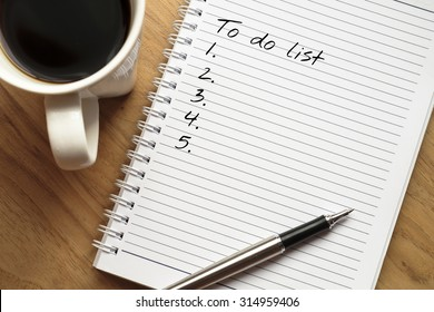 To do list conceptual - Shutterstock ID 314959406