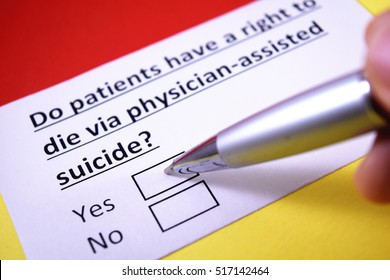 Do patients have a right to die via physician-assisted suicide? Yes.