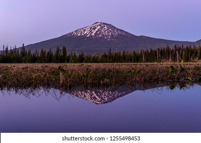 Do reflections get more clear than this? Mt Bachelor