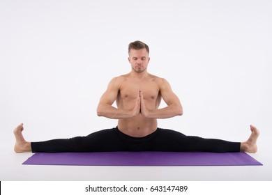 Split Stretching Images, Stock Photos & Vectors | Shutterstock