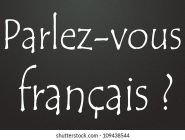 Do you speak French title  in french