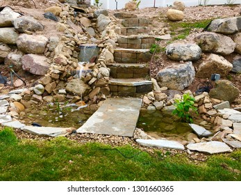 Do It Yourself Landscaping - waterfall and pond project build series
