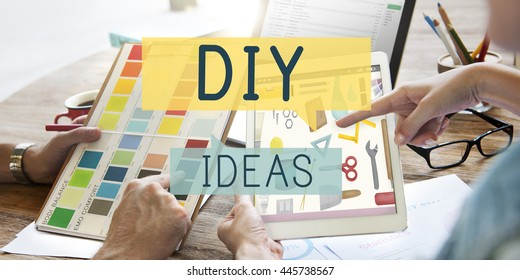 Do it yourself project images stock photos vectors shutterstock do it yourself project graphics concept solutioingenieria Images