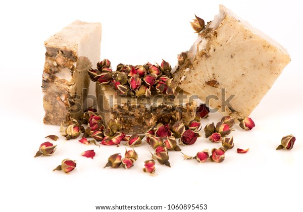 Do it yourself a rose handmade rose soap.