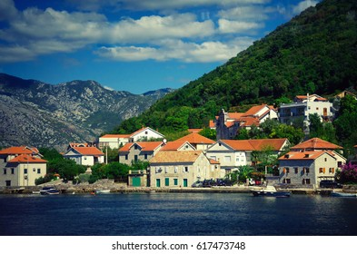 Dobrota is a town in Montenegro, located in the Verige Strait — the narrowest point of the Bay of Kotor. This place is known to travelers for centuries.