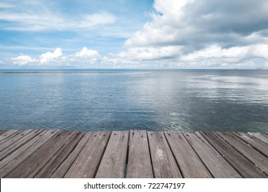 Dock at Beautiful Sea