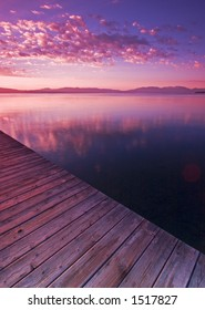 Dock in Lake Tahoe