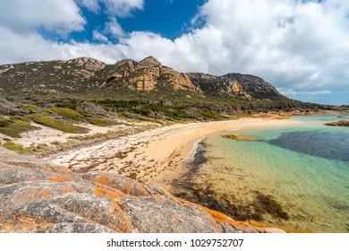 The Dock lookout on Flinders Island, Tasmania