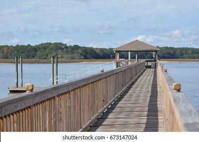 dock on Hilton Head Island, SC