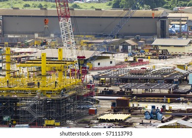 Oil Rig Brunei Images, Stock Photos & Vectors | Shutterstock