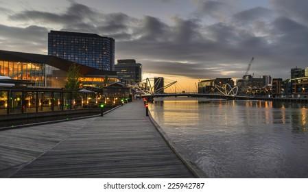 Docklands walkway