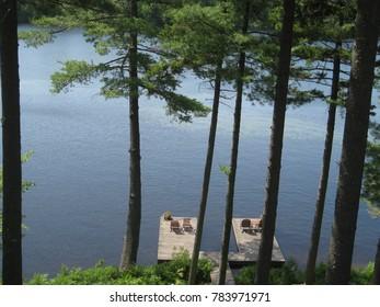 Docks on Lake