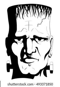Doctor Frankenstein's Monster's Head.