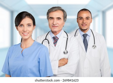 Doctor, Healthcare And Medicine, Hospital.
