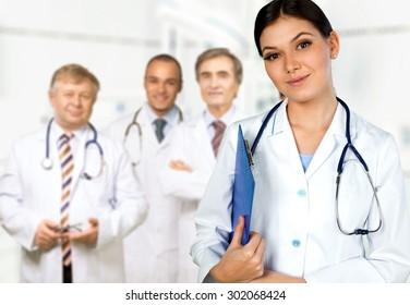 Doctor, Healthcare And Medicine, Hospital.