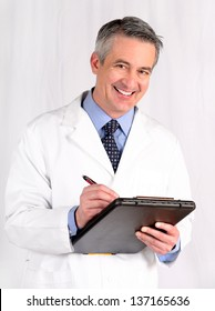 Doctor holding a medical chart