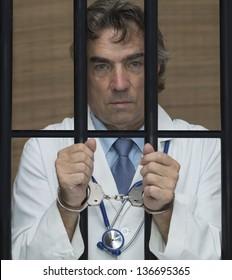 Doctor in jail.