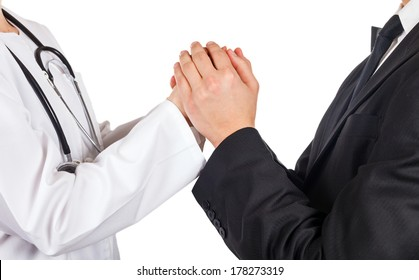 The doctor lawyer help to solve the problem