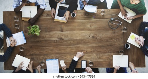 Doctor Meeting Teamwork Diagnosis Health Care Concept