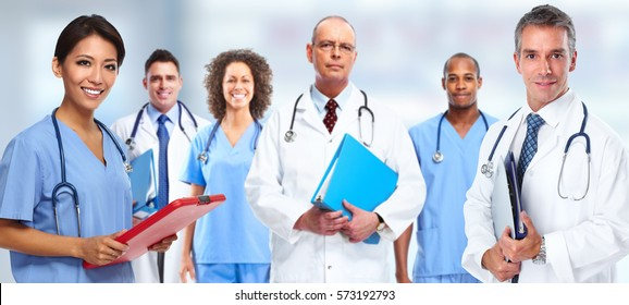 Doctor nurse group